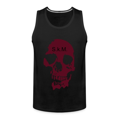 Skm plain back tank. - Men's Premium Tank Top