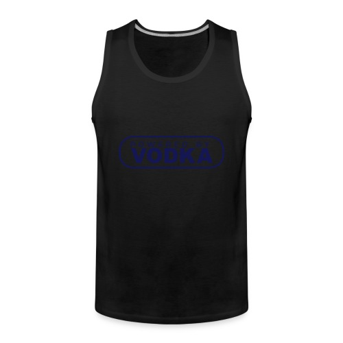 powered by Vodka - Männer Premium Tank Top
