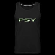 Sports wear ~ Men's Premium Tank Top ~ Psy. (Glow in the dark)