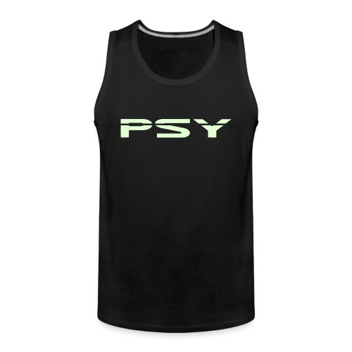 Psy. (Glow in the dark) - Men's Premium Tank Top