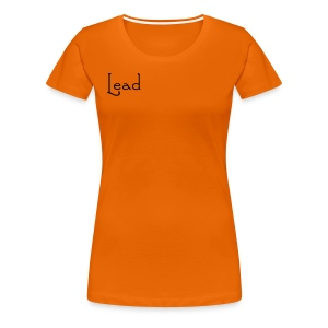 Lead it's all about me T-shirt - Women's Premium T-Shirt