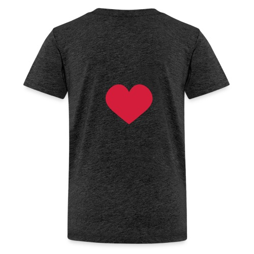 falling in love with jesus - Teenage Premium T-Shirt