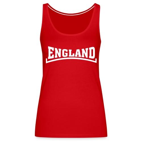 England Vest Red - Women's Premium Tank Top