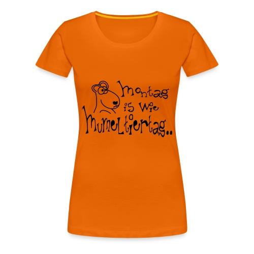 Murmeltiertag freie Farbwahl - Frauen Premium T-Shirt