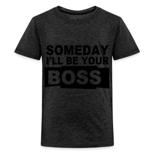 T-skjorte, barn - Premium T-skjorte for tenåringer