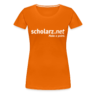 T-Shirts ~ Frauen Premium T-Shirt ~ scholarz.net - Girlie Orange