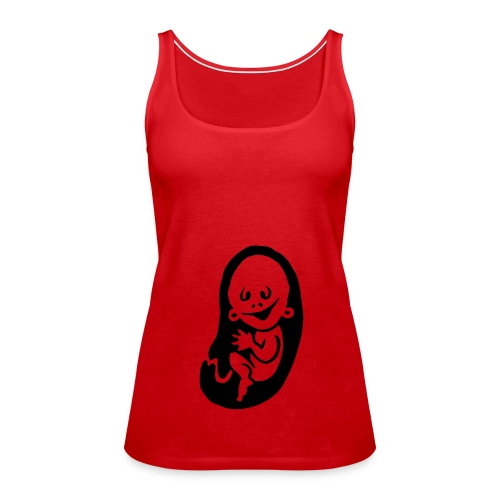 VOY A TENER UN NIÑO. - Camiseta de tirantes premium mujer