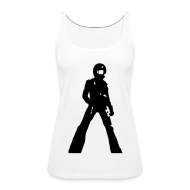 Tops ~ Women's Premium Tank Top ~ Violence For Kicks
