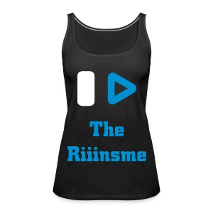 Tee shirt I Play The Riinsme Black - Débardeur Premium Femme