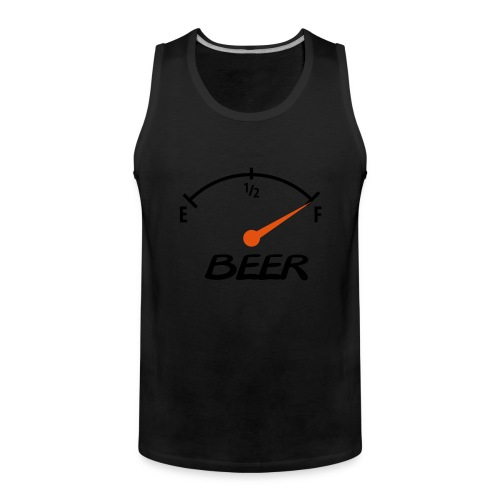 Man shirt: beer - Mannen Premium tank top