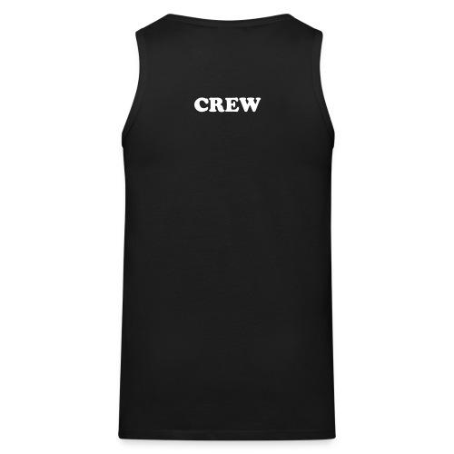 Crew hihatonpaita - Miesten premium hihaton paita