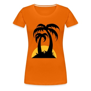 Palm Trees - Women's Premium T-Shirt