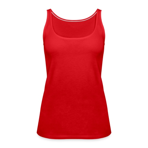 Womens Shoulder-Free Tank Top - Women's Premium Tank Top