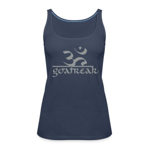 OM / Goafreak (Flockdruck) - Frauen Premium Tank Top