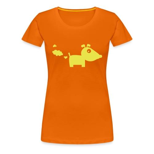 T-Shirt Pubsender Hund - Frauen Premium T-Shirt