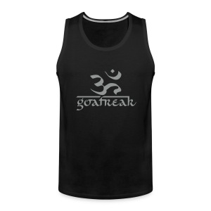 OM / Goafreak (Flockdruck) - Männer Premium Tank Top