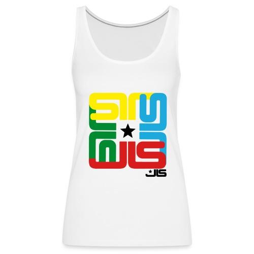 JLS 4 logo Vest 2 - Women's Premium Tank Top