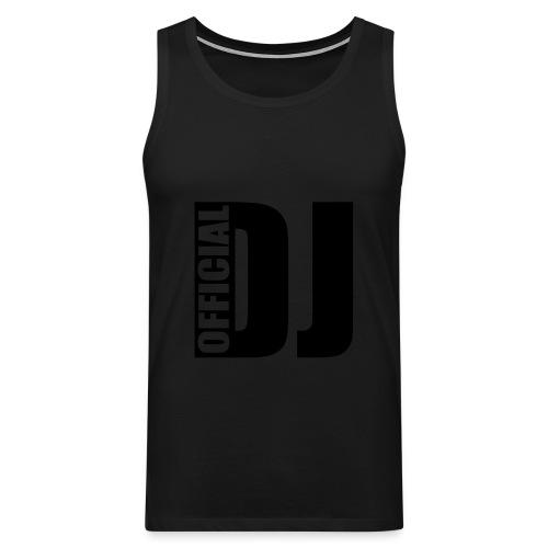 DJ paita - Miesten premium hihaton paita