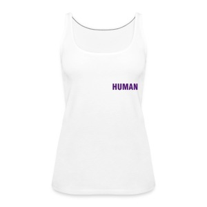 Tank Top - HUMAN - Frauen Premium Tank Top