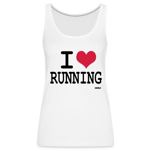 I love Running  ! - Débardeur Premium Femme