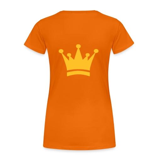 Koninginnedag shirt.  - Vrouwen Premium T-shirt