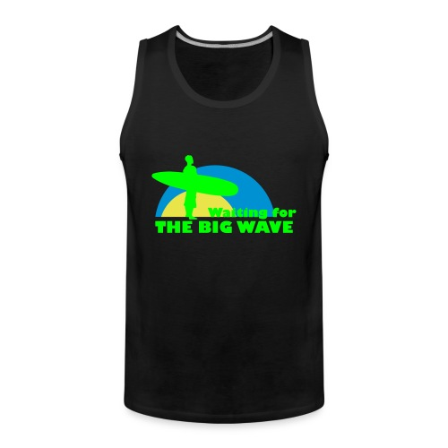 The Big Wave - Men's Premium Tank Top