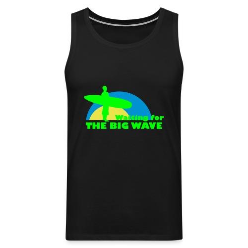 The Big Wave - Men's Premium Tank Top