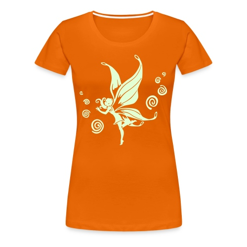 Elfe SVG (glow in the dark) - Frauen Premium T-Shirt