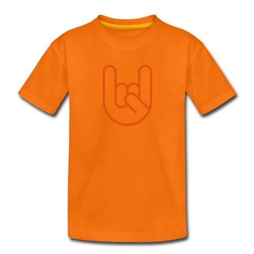 Rock hand - Teenager Premium T-shirt
