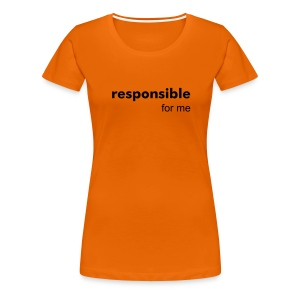Sacral 'Responsible Tee - Women's Premium T-Shirt