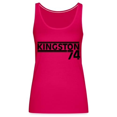 KINGSTON 74 NOIR - Débardeur Premium Femme