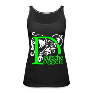 Deutsche Doggen  - Frauen Premium Tank Top