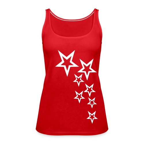 Estrella - Camiseta de tirantes premium mujer