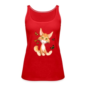 Kitticat Frauen Tank Top - Frauen Premium Tank Top