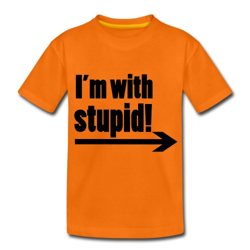 Stupid - Teenage Premium T-Shirt
