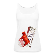 Toppe ~ Dame Premium tanktop ~ Let out the bull,top