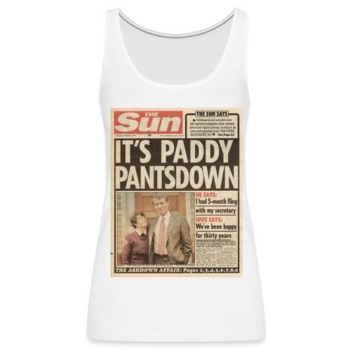 It's Paddy Pantsdown - Women's Premium Tank Top