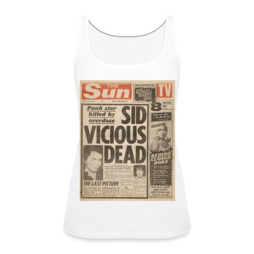 Sid Vicious Dead - Women's Premium Tank Top