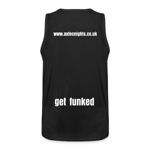 Exclusive get funked Tshirt by henley - Men's Premium Tank Top