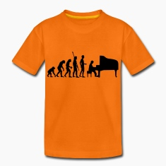 evolution_pianist Shirts