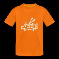T-Shirts ~ Teenager Premium T-Shirt ~ Feuerwehr (power reflex) - Kinder T Shirt klassisch