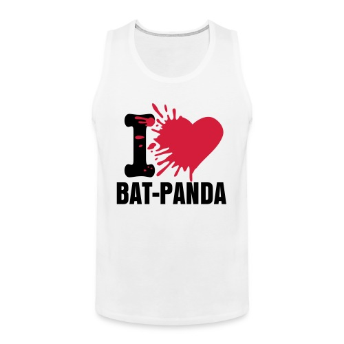Win! - I Heart Bat-Panda - Tanktop - Men's Premium Tank Top