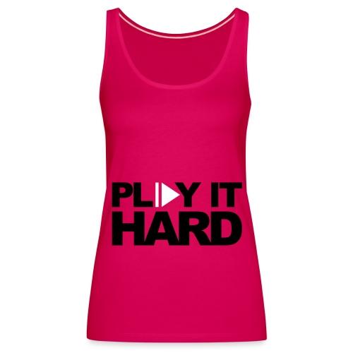 ladies music vest - Women's Premium Tank Top