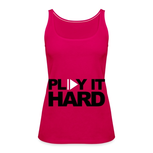 ladies music vest - Women's Premium Tank Top