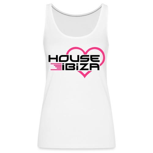 DJ house ibiza - Débardeur Premium Femme