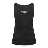 Tops ~ Women's Premium Tank Top ~ VEST TOP: Don't leave the duck there.