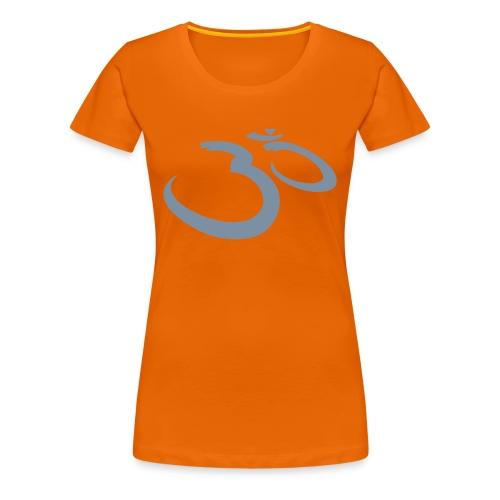 OM Mantra (silver) - Frauen Premium T-Shirt
