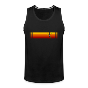 LowRez4 - Men's Premium Tank Top
