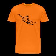 T-Shirts ~ Men's Premium T-Shirt ~ Telemark Skier Tee