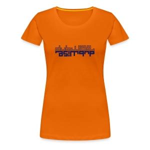 tee-shirt girl electro dubwise - Women's Premium T-Shirt